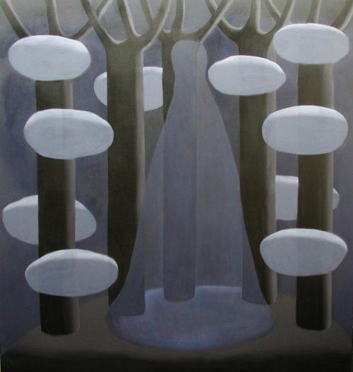 Traumgestalt olieverf op doek 150x160cm, 2010