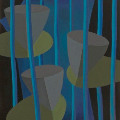 Z.T.  acrylverf op doek 100x110cm, 2009
