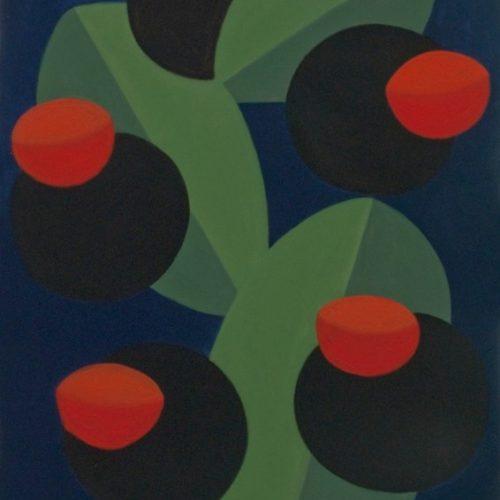 Z.T.  acrylverf op doek 100x140cm, 2008